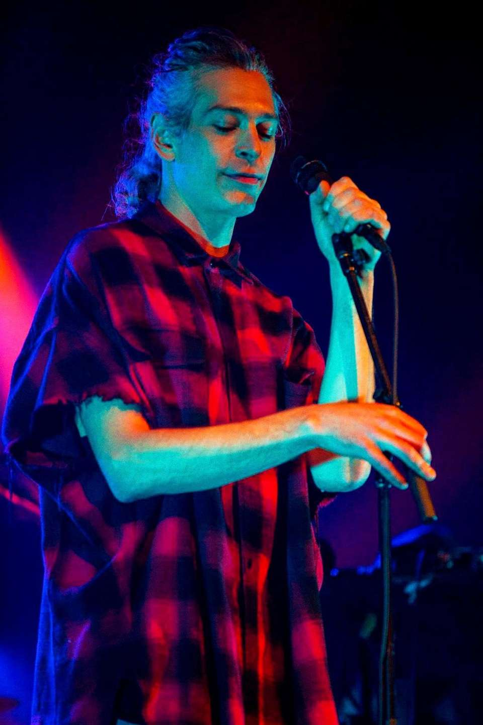 Grammy Award-nominated reggae rocker Matisyahu is using Labor