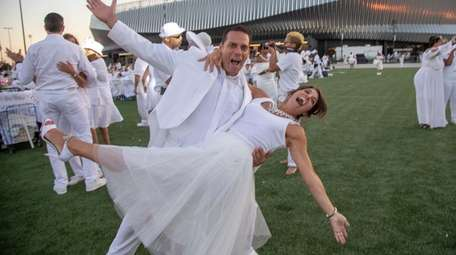 Fred Espinosa and Lori Vandoran of West Babylon
