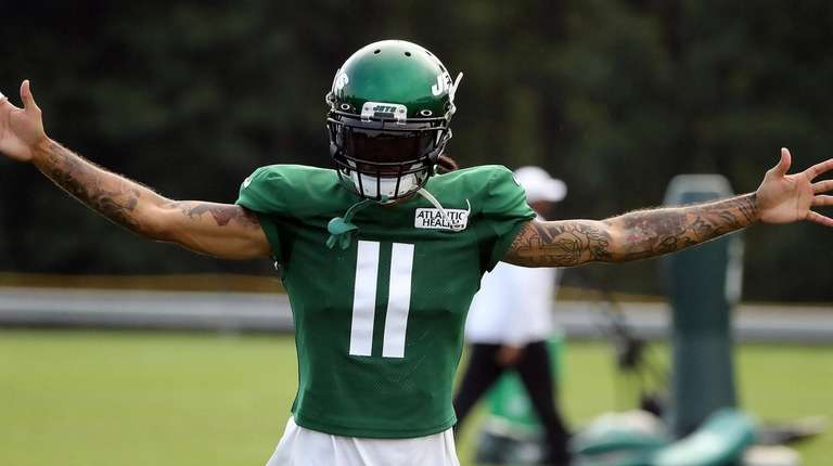 best service ab191 e48ca Jets receiver Robby Anderson has calf injury | Newsday