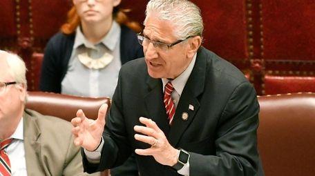 State Sen. Jim Tedisco (R-Schenectady) says the plan