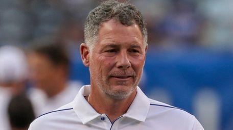 Giants coach Pat Shurmur isn't a fan of