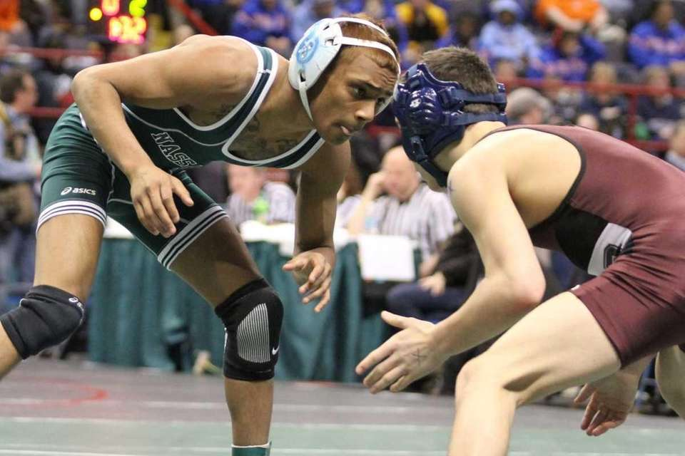 Long Beach's Krishna Sewkumar squares off in the