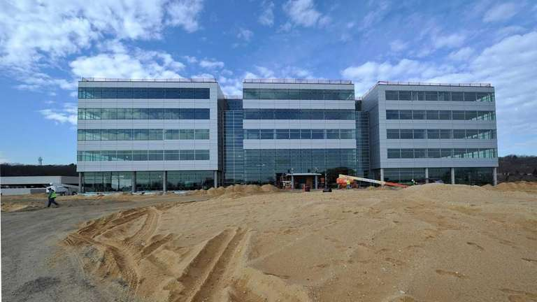 The new Canon USA headquarters building that is