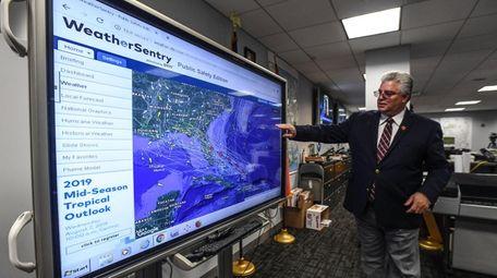 Steven Morelli, commissioner of Nassau's Office of Emergency