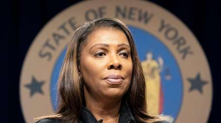 New York State Attorney General Letitia James on