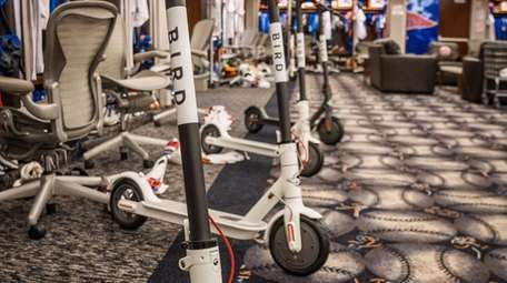 Scooters purchased by Mets second baseman Robinson Cano