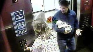 In this image from surveillance video, Douglas Kennedy,