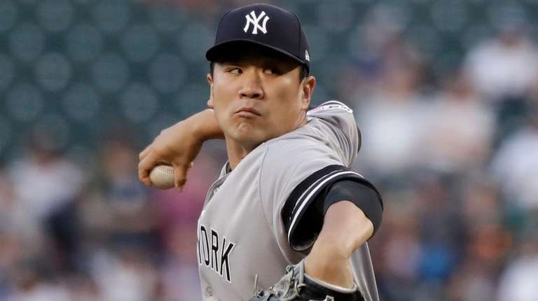 Masahiro Tanaka breezes for seven innings as Yankees go deep twice in win over Mariners