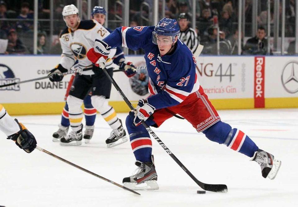 Ryan McDonagh #27 of the New York Rangers