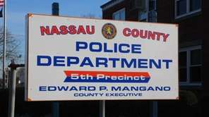 The Nassau County Police Department's fifth precinct in
