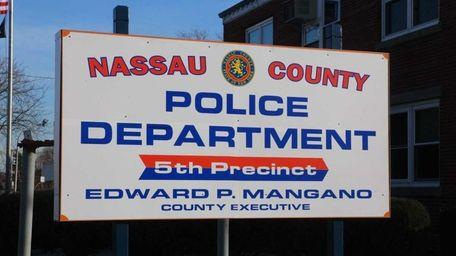 The Nassau County Police Department's fifth precinct in