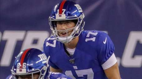 Giants quarterback Kyle Lauletta said of Thursday night's