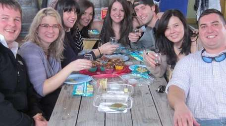 Wine enthusiasts spend Saturday at Vineyard 48 in