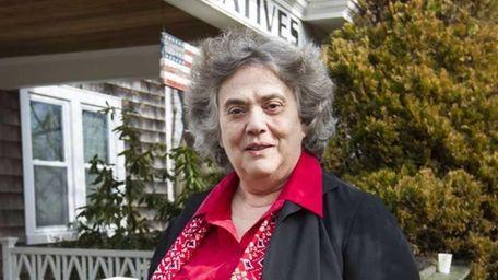 Christine Epifania, executive director of Alternatives Counseling, outside
