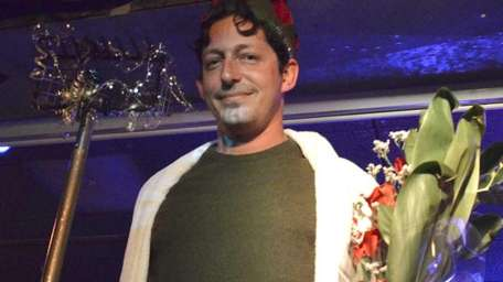 Nick Kraus wins the Mr. Amagansett Pageant on