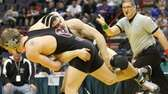 John Glenn's Nick Bellanza gets a take down
