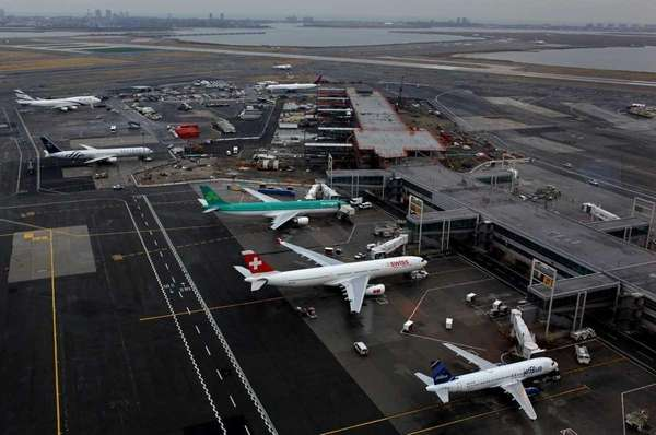 A file photo of JFK airport. (Jan. 26,