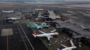 A file photo of JFK airport. (Jan. 26,