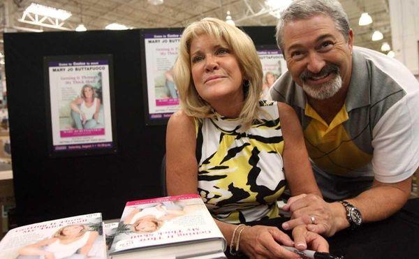Mary Jo Buttafuoco and her fiance Stu Tendler
