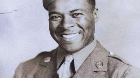 Thomas Watkins, a Buffalo Soldier, who served in