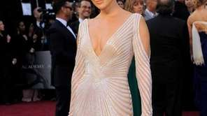 Jennifer Lopez arrives before the 84th Academy Awards