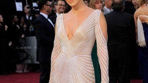 Jennifer Lopez arrives before the 84th Academy Awards