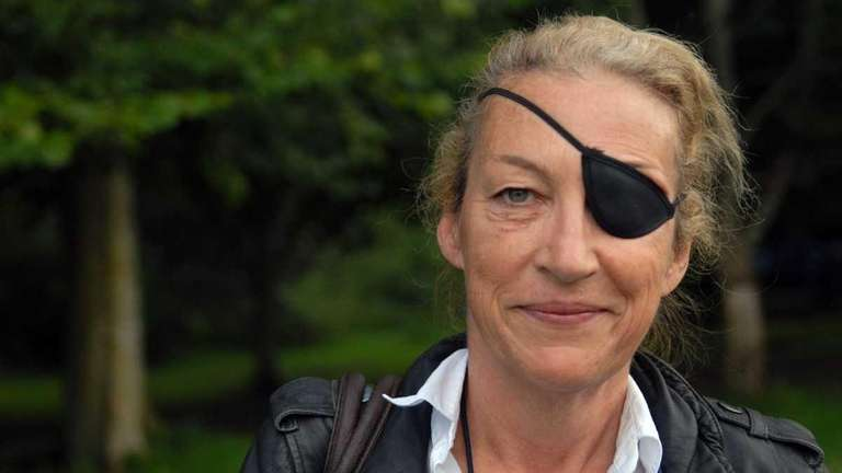 Marie Colvin, the London-based British war correspondent raised