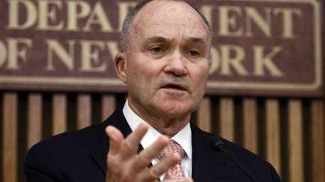 New York Police Commissioner Ray Kelly responds to