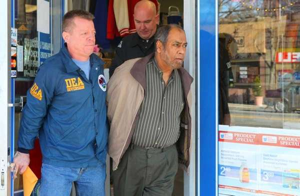 Federal agents raided Aim Pharmacy and Surgical Corp.