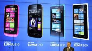 Nokia president and chief executive Stephen Elop talks