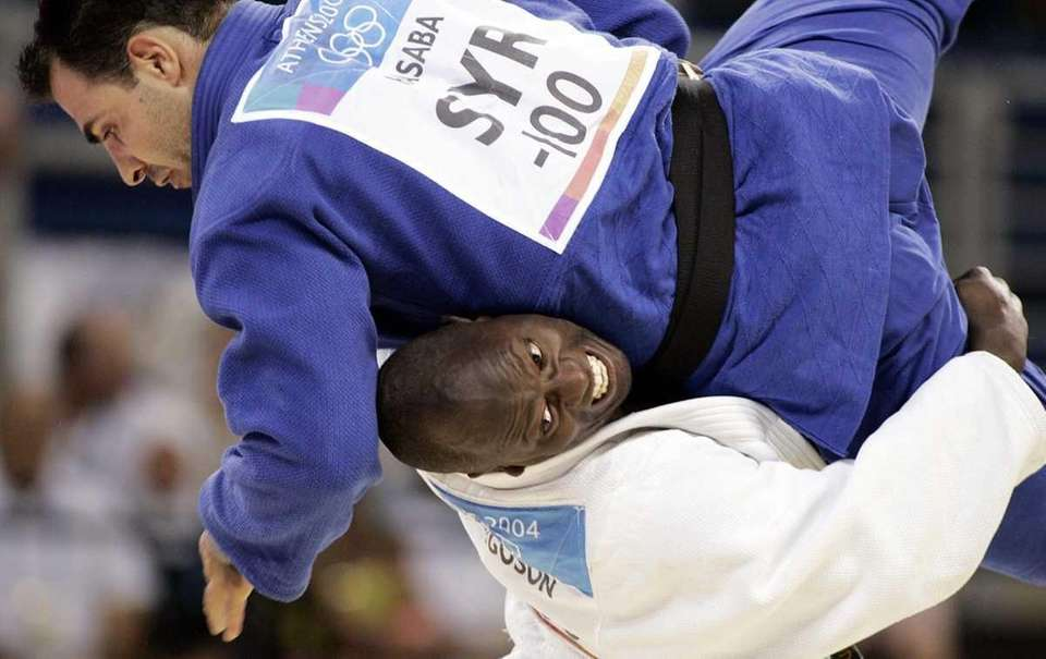 Ferguson competed in judo for Team USA in