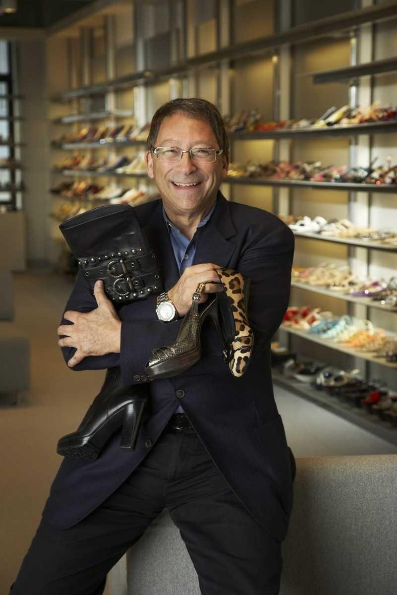 Shoe designer Stuart Weitzman graduated from George W.