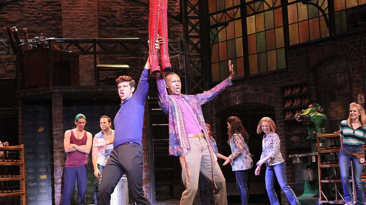 'Kinky Boots' making its LI premiere in Patchogue