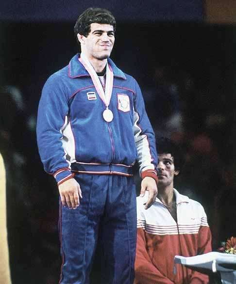 Schultz won a gold medal in freestyle wrestling