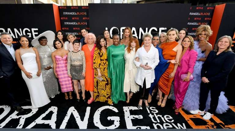 What is the cast of 'Orange Is the New Black' up to now that