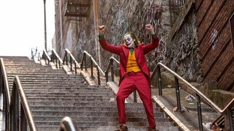 """Joaquin Phoenix in a scene from """"Joker,"""""""