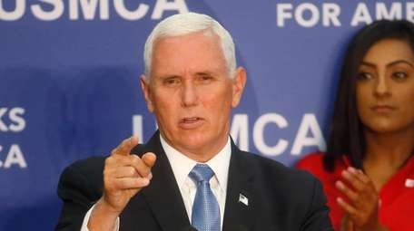 Vice President Mike Pence speaks at medical-device manufacturer