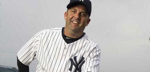 Yankees batting coach Kevin Long at spring training