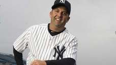 Yankees batting coach Kevin Long at spring training