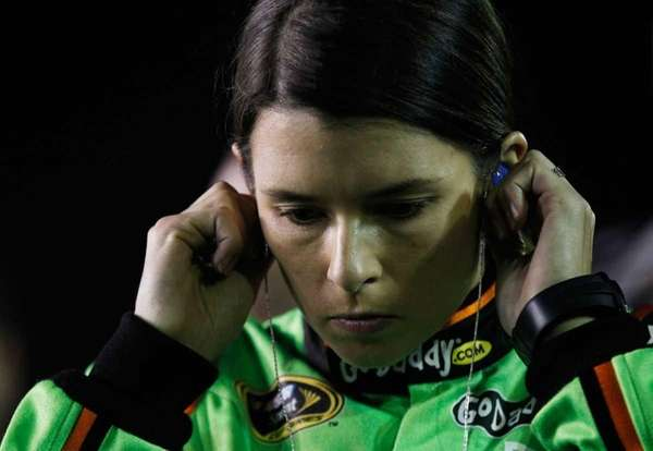 Danica Patrick, driver of the #10 GoDaddy.com Chevrolet,