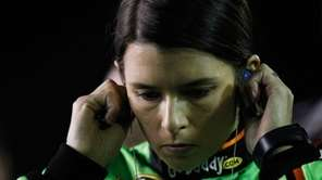 Danica Patrick, driver of the #10 GoDaddy.com Chevrolet,