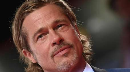 """Brad Pitt arrives for the premiere of """"Ad"""