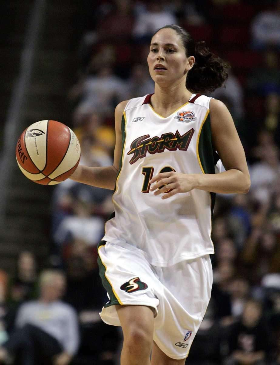 Seattle Storm's Sue Bird was born in Syosset