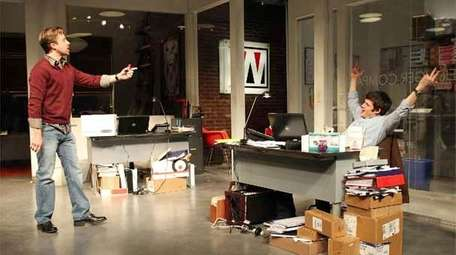 Lucas Near-Verbrugghe as Vince and Michael Esper as
