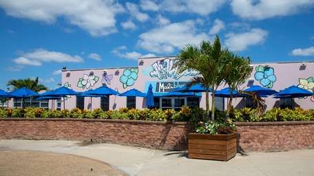 The Malibu Beach Club in Lido Beach, seen