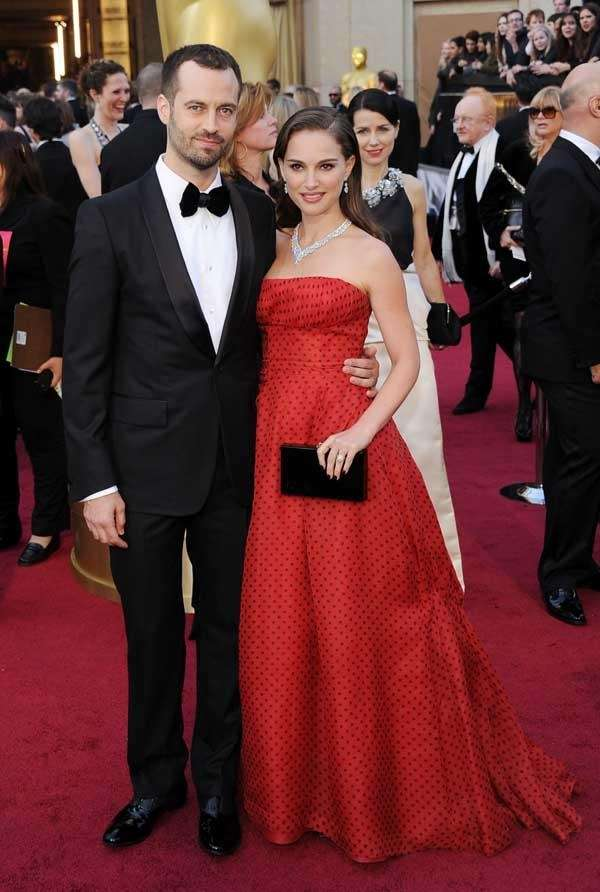 Natalie Portman and Benjamin Millepied at the 84th
