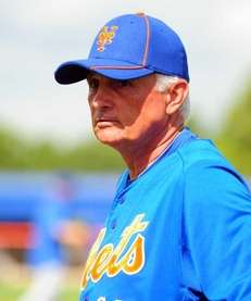 Mets manager Terry Collins during a spring training