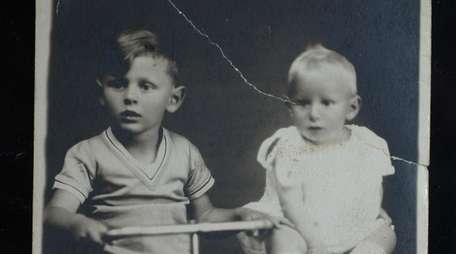A copy of a 1930 family photograph of