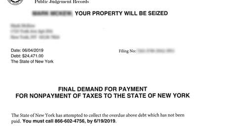 New York State Tax Department Warns Of New Scam Letter Newsday