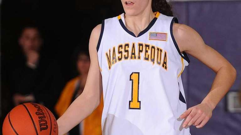 Massapequa High School #1 Morgan Roessler looks to